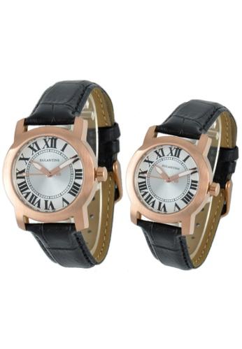 EGLANTINE gold EGLANTINE® - Emile & Emily - 2 Quartz Watches Rose Gold Plated on Strap BEF9EAC6DA85D2GS_1