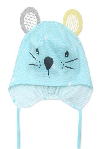 Organic mom blue Organic Cotton Jerry Mouse Hat 0B10DKC2A9069CGS_1