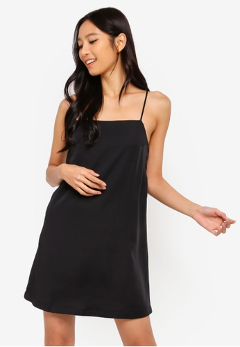 Factorie black Slip Dress 9D098AA50666DDGS_1