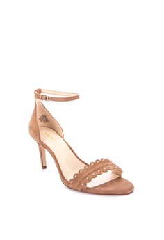 317b334a590 40% OFF Nine West Idrina Heeled Sandals Php 6