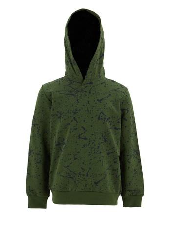 DeFacto green Long Sleeve Cotton Hoodie 4E286KAEF58210GS_1