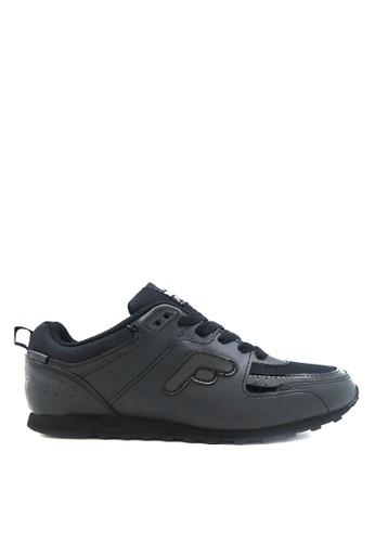 FANS black Fans Eureka B - Running and School Shoes Black Black FA469SH82LMJID_1