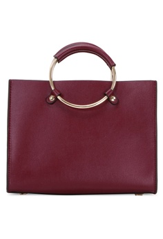 0125d84e2c92 Belle   Bloom red New Palm Tote 160E0ACC0AFE0AGS 1