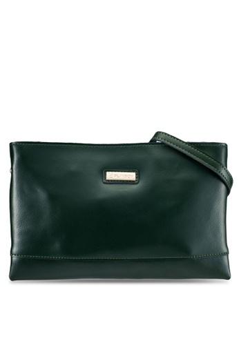 PLAYBOY BUNNY green Playboy Bunny Genuine Leather Clutch Bag/Sling Bag PL604AC0RH3LMY_1