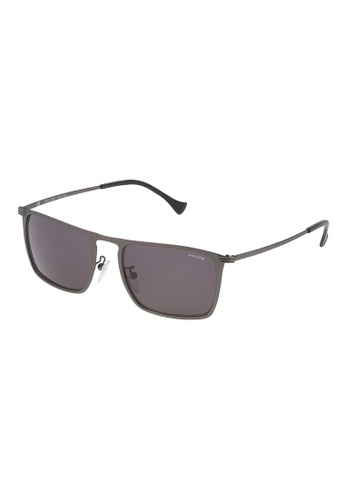Police grey Police Rival 8 Sunglasses SPL155 0H68 PO706AC47OZSMY_1
