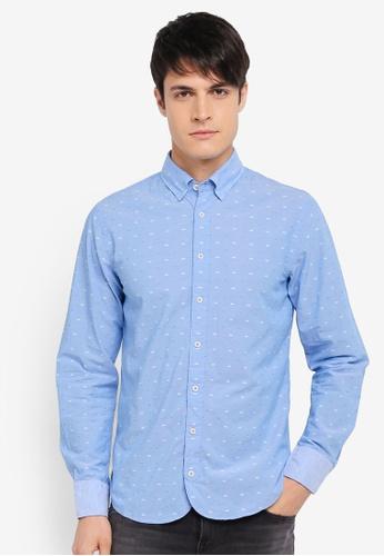 BOSS 藍色 Customize Shirt - Boss Casual BO517AA0SRBSMY_1