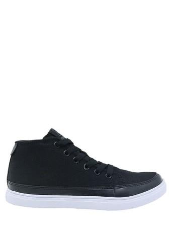 Precise black Precise Dillon JT Sepatu Remaja - Hitam/Putih 403EBSH06D8B63GS_1