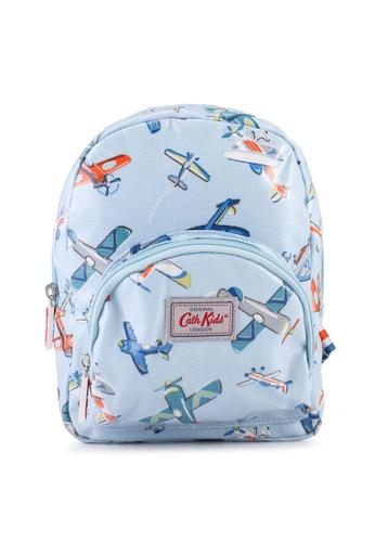 Cath Kidston blue Airshow Kids Mini Rucksack Backpack 36D7FKC8E17D81GS_1