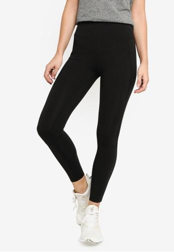 Lorna Jane black Ultimate Support Full Length Leggings 76B59AA91F52AEGS_1