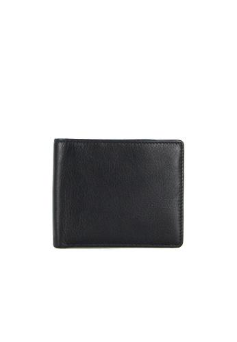 Alef black Alef Colson Ultra Slim Bifold Wallet in Black F5025AC9FE3EB5GS_1