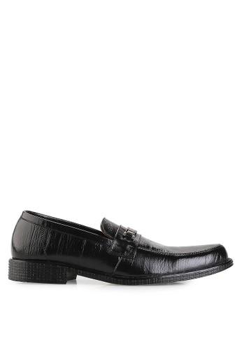 Dr. Kevin black Business & Dress Shoes Shoes 83172 Hitam Leather DR982SH17UEGID_1