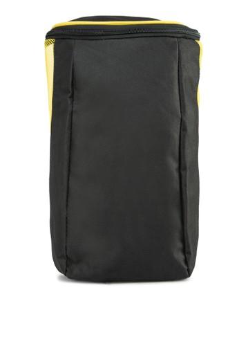 zalora taiwan 時尚購物網網眼拼接旅行袋, 包, 旅行包