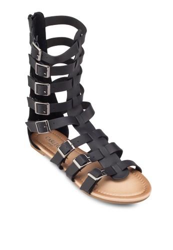 扣環多帶羅馬esprit hk涼鞋, 女鞋, 涼鞋