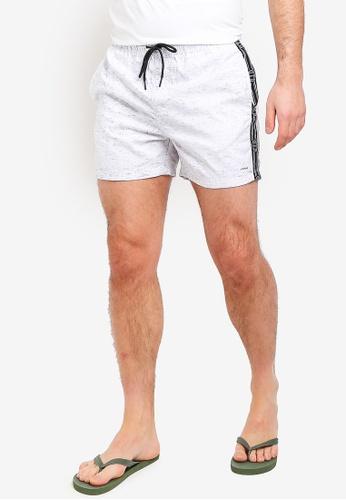 Factorie 白色 游泳短褲 F89E8AA4138BFDGS_1