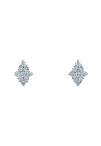 造型晶鑽耳環, esprit 高雄飾品配件, 耳環