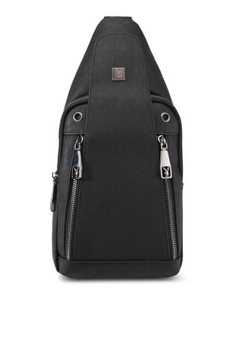 Playboy black Playboy Chest Bag PL371AC0SK1UMY_1
