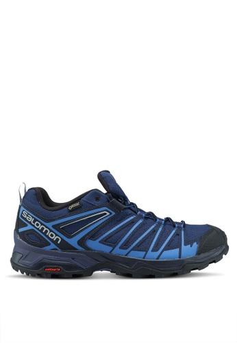 Salomon blue X Ultra 3 Prime Gtx Shoes EC94ASH66F2908GS_1