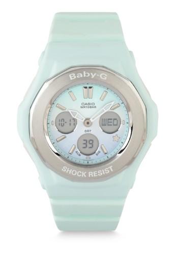 Baby-G green Women Analog Watches Bga-100St-3Adr C57C1ACBFBF721GS_1