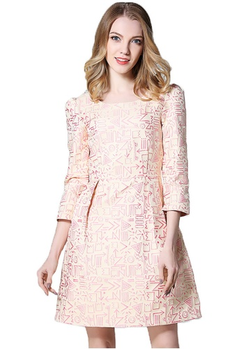 Urban Outlier beige A-Line Casual and Party Dress 053D8AA3997147GS_1