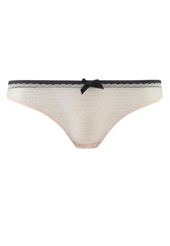 Undiz beige New Voltiz String Panties FF34BUSF5D1904GS_1