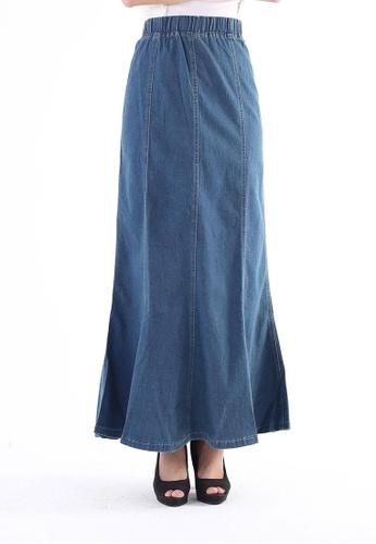 Ladies Jeans blue Ladies Jeans Denim Skirt 4DD88AA6D8AD87GS_1