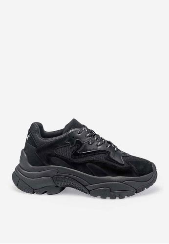 ASH black Addict - Black Mesh weaving Sneaker E0789SH0036B8EGS_1
