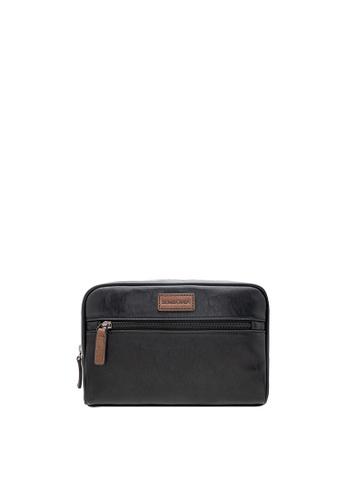 SEMBONIA black SEMBONIA Men Synthetic Leather Clutch Bag (Black) 68CB7ACB52BA12GS_1