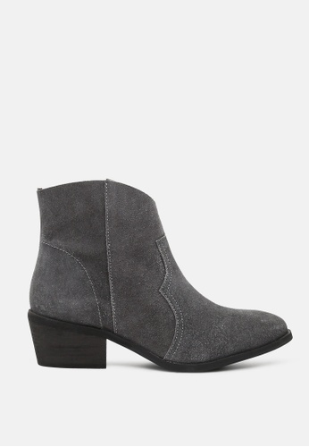 Rag & CO. 灰色 低跟短靴 DE7FDSH93C04C6GS_1