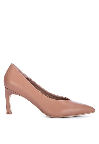 ABOUT A GIRL brown Solid Tone Pumps BAD65SH0FCE2A5GS_1