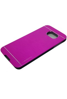 Sleek Metal Case for Samsung Galaxy S6 (Pink)