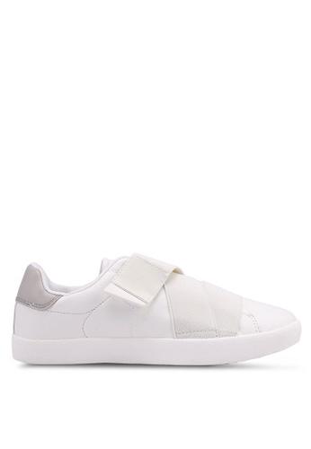Bata 白色 懶人運動鞋 E91AASH90C1C50GS_1