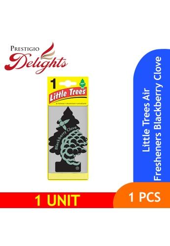 Prestigio Delights black and multi and navy Little Trees Air Fresheners Blackberry Clove 97E11ESD957804GS_1