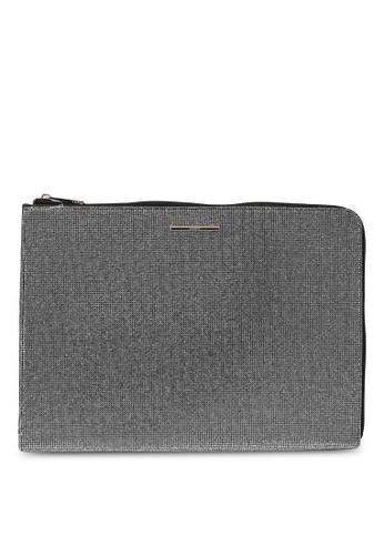 ALDO silver Coqui Laptop Sleeve D307BAC9E527A9GS_1