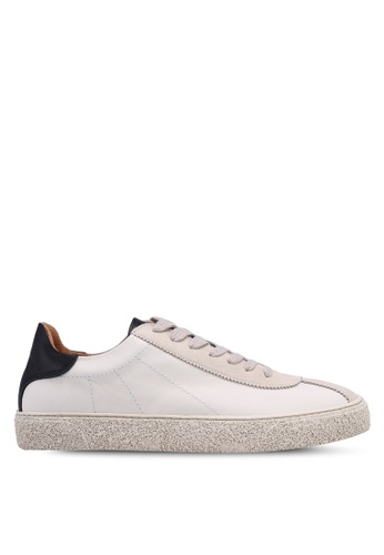 Selected Homme white Mix Trainer FF84ESH1EEEC67GS_1