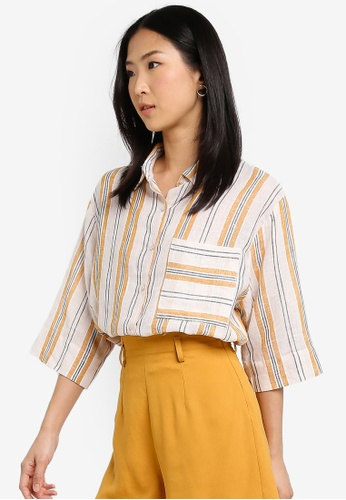 Cotton On multi Rebecca Chopped Shirt 80C68AA0A96C9DGS_1