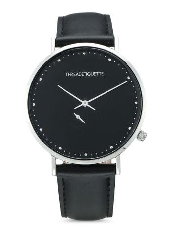 Thread Etiquette black Chrono-Black/Silver Timepiece 97A5FAC4AE3780GS_1