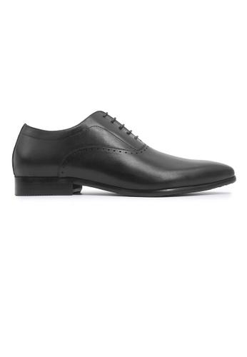 Hanson Bootmaker 黑色 Hanson Bootmaker Lace-up Oxford - Black 715EDSH36A42A9GS_1