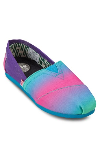 Orenda 漸esprit服飾層多色懶人鞋, 女鞋, 懶人鞋