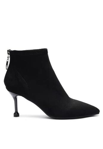 Twenty Eight Shoes Suede Fabric Heel Ankle Boots 2019-3 8EEEASH0C1C4CFGS_1