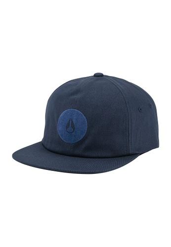 Nixon Nixon Griffen Strapback Hat Navy - C2885307 D6F60AC317EBCEGS_1