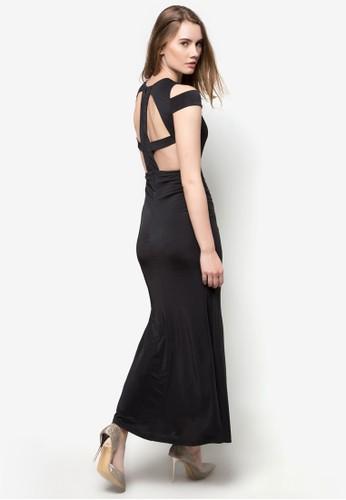 Cimmerian 露背長洋esprit童裝門市裝, 服飾, 洋裝