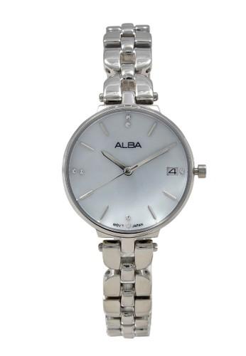 ALBA silver ALBA Jam Tangan Wanita - Silver - Stainless Steel - AG8J51  AE5A5AC20094F8GS 1 e9f40e6276