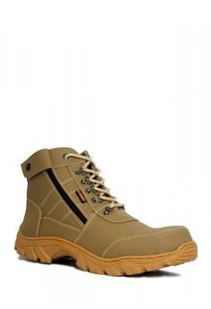 34% OFF Cut Engineer Cut Engineer Zipper Combo Safety Boots Iron Leather  Grey Rp 385.000 SEKARANG Rp 255.000 Ukuran 39 40 41 42 43 b9b4d59042