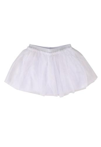 FOX Kids & Baby white Kids Girl Tulle Skirt 339A0KA9E06813GS_1
