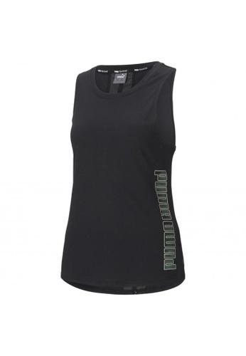 PUMA black PUMA Logo Women's Training Muscle Tank 10355AAB4C4EAFGS_1