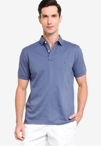 Tommy Hilfiger 藍色 Regular Polo Shirt F3EE9AA0AC6F11GS_1