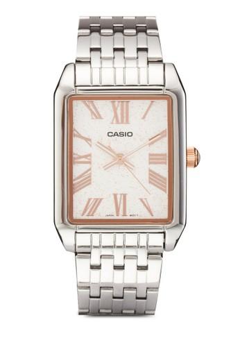 方框石英羅馬數字指針esprit tw鍊錶, 錶類, 飾品配件