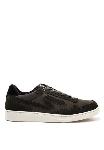 SONNIX black Barc  CS Men's Lace Up Sneaker Shoes SO490SH35NPWPH_1