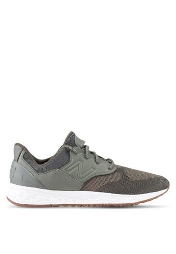 New Balance green 100 Lifestyle Sneakers NE323SH0SW9GMY_1