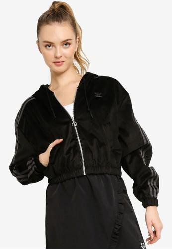 ADIDAS black adidas originals hooded tt C1060AA59B7F9CGS_1